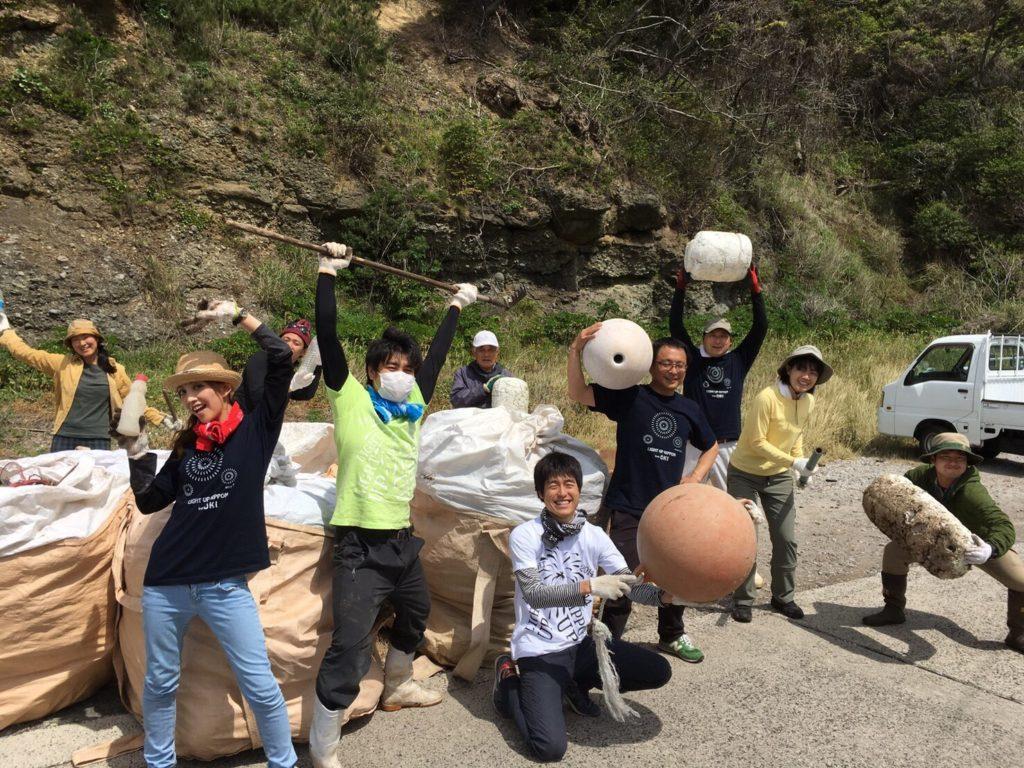 大津久海岸清掃!